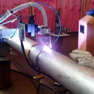Solda automatica de tubos