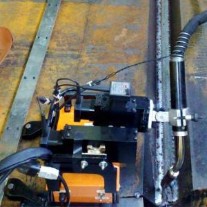 Trator magnético de soldagem portátil